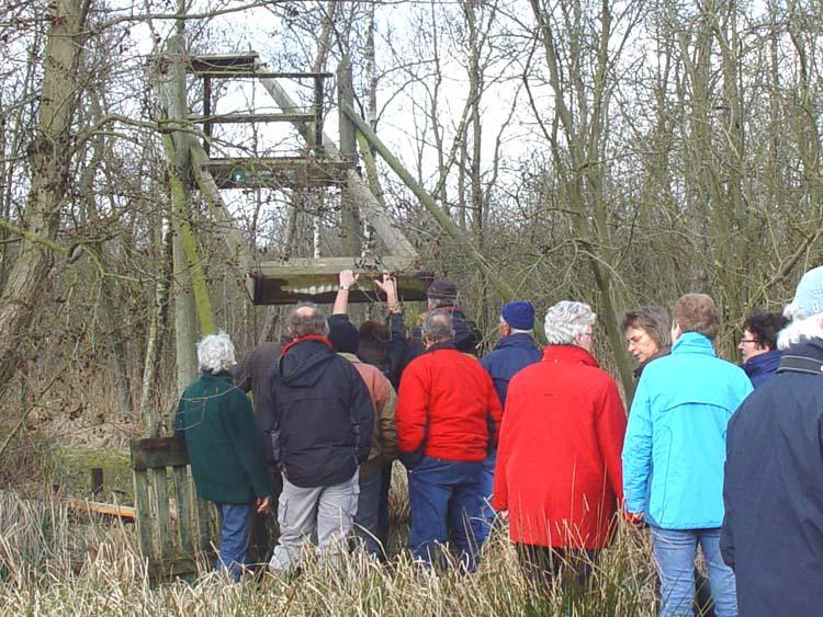 De Kooi van Pen wordt geopend voor de bewoners van Wetering e.o.