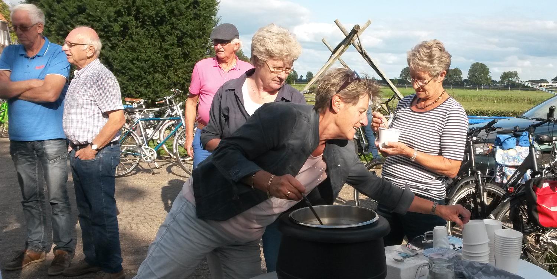 Buurtuitje 2018 - Happen en Trappen