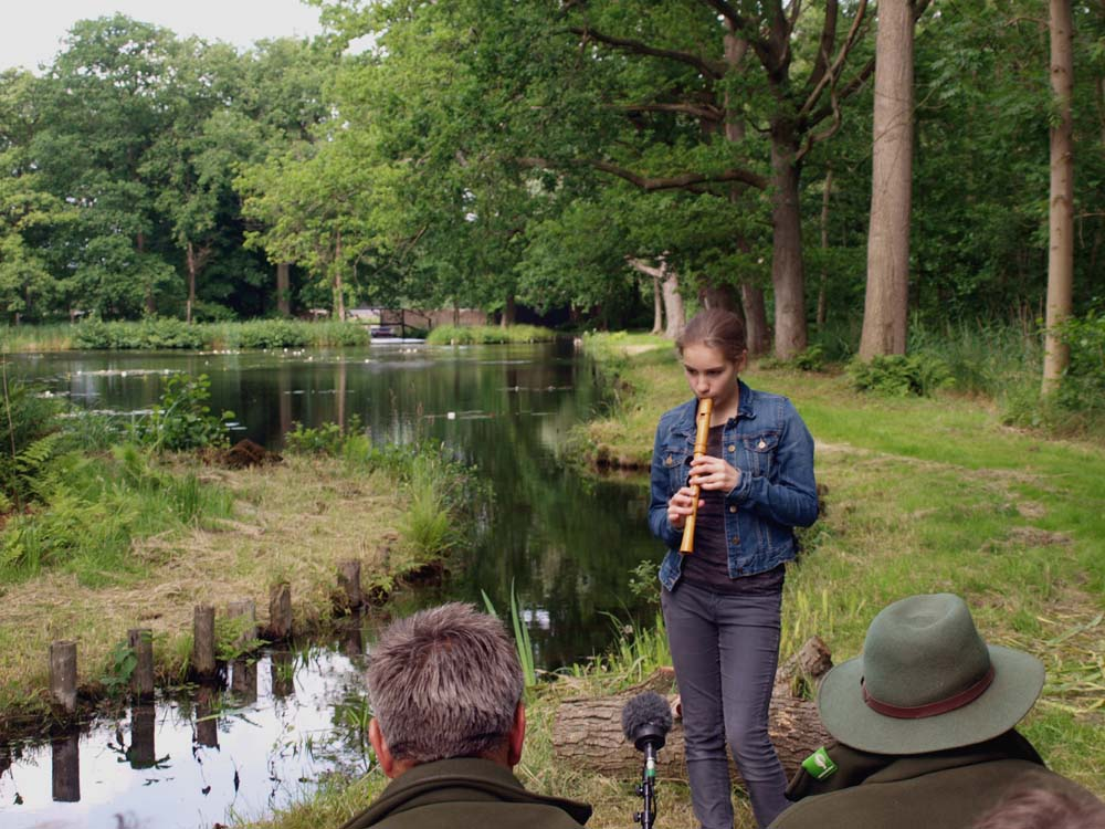Concert op de werkvloer - Lucie Horsch in Kooi van Pen