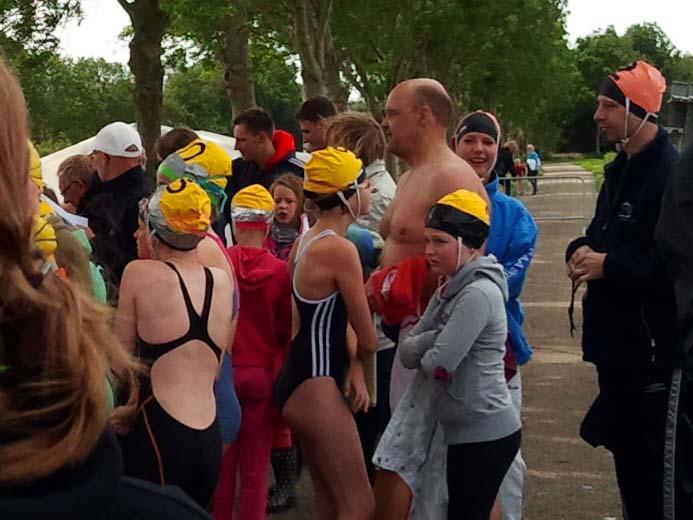 Dertigste editie - Open water zwemmen 2013
