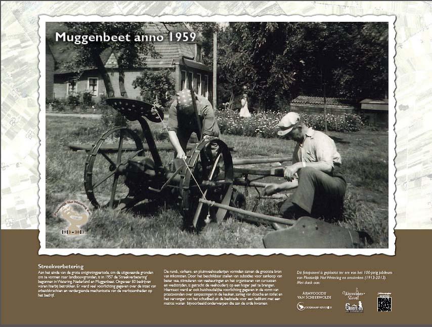 Historische panelen Plaatselijk Nut Wetering en omstreken