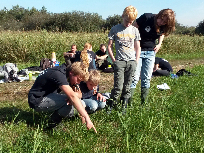 Junior Rangers op expeditie in het Woldlakebos
