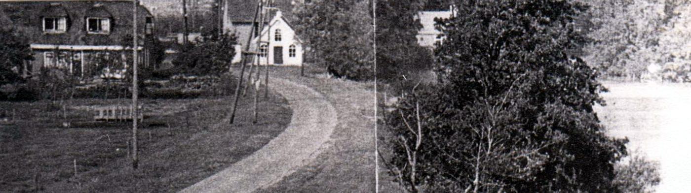 ca 1955 - Houten Lokaal Wetering West 3a