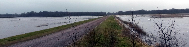 Test 2017 waterberging Wetering Oost - bij Stroinkweg