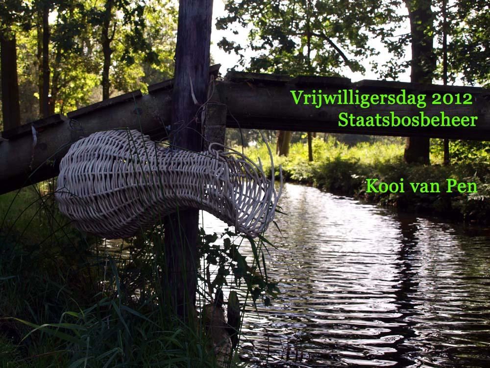 Vrijwilligersdag Staatsbosbeheer 2012 - Kooi van Pen