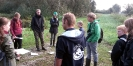 Junior Rangers op expeditie in het Woldlakebos